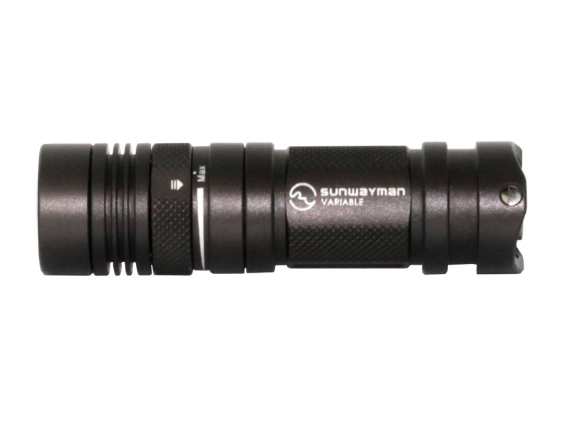 Sunwayman V11R Flashlight Cree XML LED Up to 500 Lumens Uses 1 x 16340 or 1 x CR123A Battery