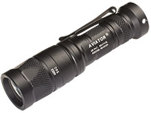 Angle Shot of the Surefire Aviator LED Flashlight