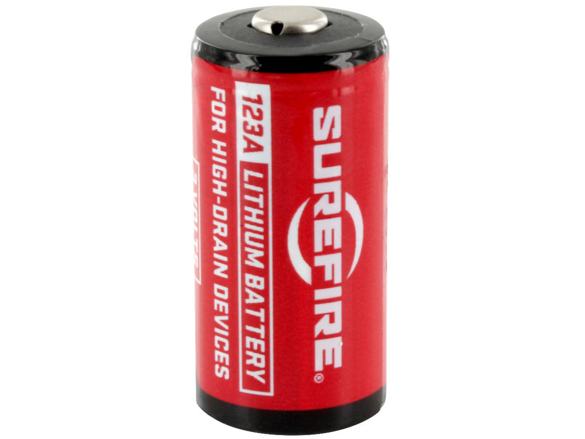 SureFire SF123A (400PK) CR123A 1550mAh 3V Lithium Primary (LiMNO2) Button Top Batteries - Box of 400