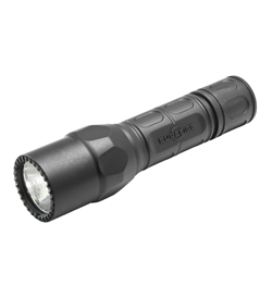 SureFire G2X Tactical Single-Output LED Flashlight - 600 Lumens - Includes 2 x CR123As (G2X-C-BK)