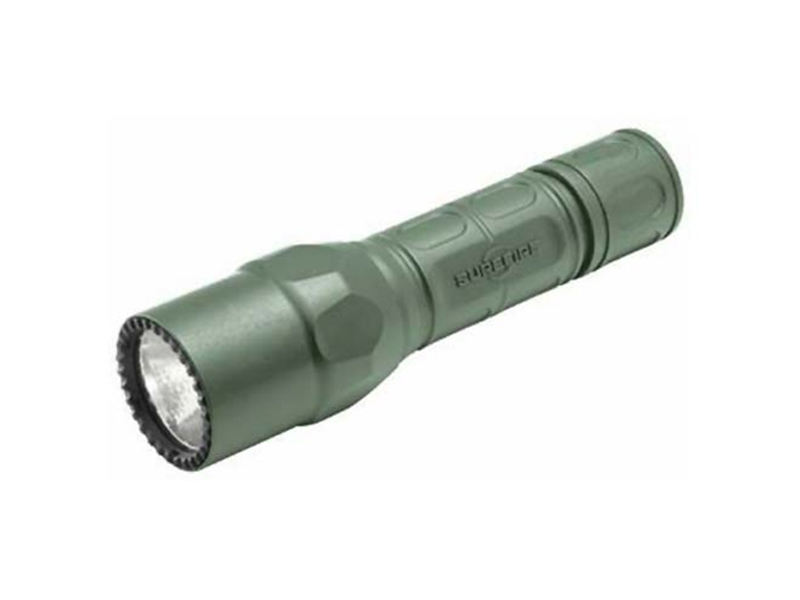 SureFire G2X Tactical LED Flashlight - Single Stage - 320 Lumens - Foliage Green Finish - Uses 2 x CR123A (G2X-C-FG)
