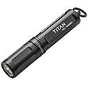 SureFire Titan Ultra-Compact Dual-Output LED Keychain Light - 125 Lumens - Includes 1 x AAA (TITAN-A)