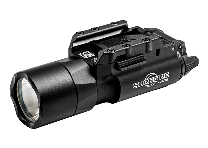 SureFire X300U-A LED Weapon Light with Rail-Lock Mounting System for Universal, Picatinny Rails - Fits Handguns, Long Guns - 600 Lumens - Includes 2 x CR123As