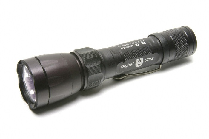 SureFire U2 Ultra Flashlight - U2-BK-WH