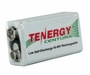 Tenergy Centura LSD 10003 9V 200mAh 8.4V Nickel Metal Hydride (NiMH) Battery with Snap Connector - Bulk