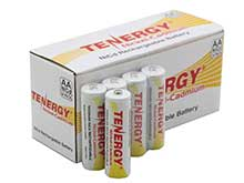 Tenergy 90391 AA 1000mAh 1.2V Nickel Cadmium (NiCd) Button Top Batteries - Pack of 24