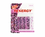 Tenergy AA Alkaline NON-RECHARGEABLE Batteries 4-Pack High drain Foil Jacket LR06 Special Edition - Leopard Print