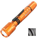 LightStar Corp. 300 AA LED Flashlight - CREE XP-G2 - 300 lumens - Includes 2 x AAs - Orange, Black or Hi-Vis Green