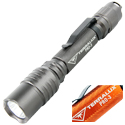 TerraLUX / Lightstar Corp. Pro-3 Series LED Flashlight - CREE XP-E LED - 280 Lumens - Uses 2 x AAs - Titanium Grey or Orange
