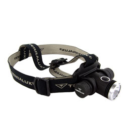 TerraLUX / Lightstar Corp. TLH-50 LED Headlamp - 700 Lumens - Uses 2 x CR123A (TLH-50)