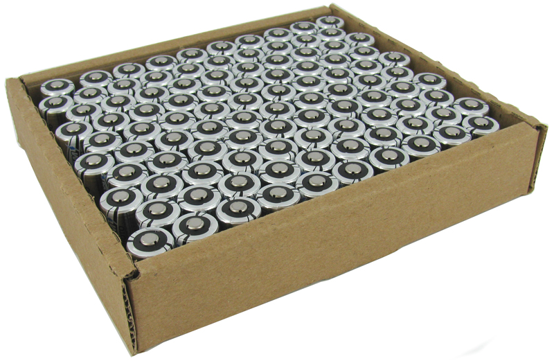 Titanium Innovations CR123A (3200PK) 1400mAh 3V 3A Lithium Primary (LiMNO2) Button Top Photo Batteries  - Box of 3200