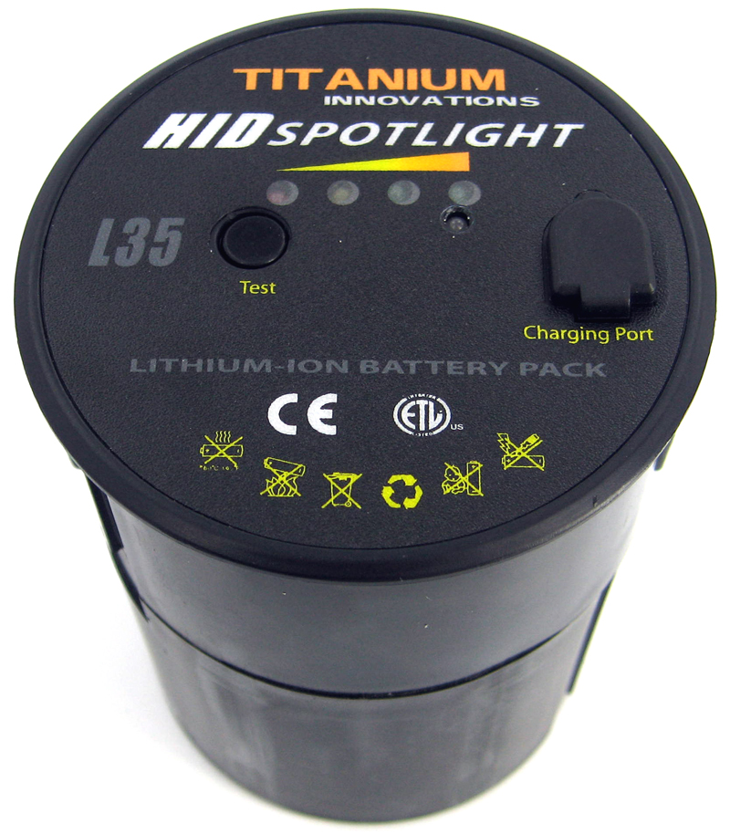 Titanium Innovations L35 Spare / Replacement Battery Pack