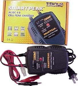 Smart AC/DC Delta Peak Charger NIMH/NICD 4-8 cell 4.8v - 9.6v Packs (TPP2-1880)