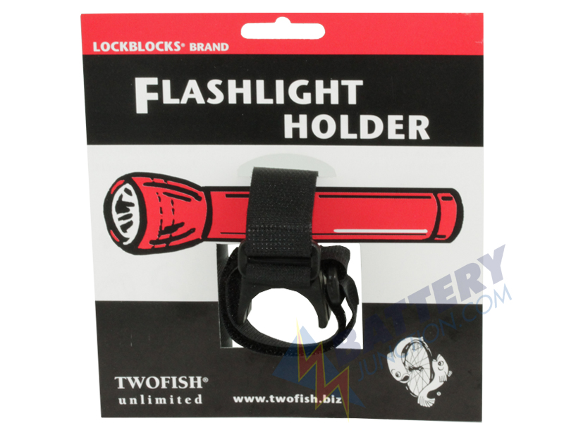 TWOFISH Lockblocks Bicycle Flashlight Holder Cross Channel (Two Fish Lock Blocks)