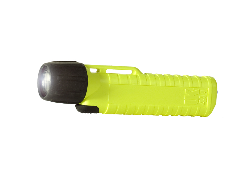 Underwater Kinetics UK4AA-AS2 Xenon 14120 Flashlight with Front Switch - 38 Lumens - Class I Div 2 - Uses 4 x AAs - Safety Yellow