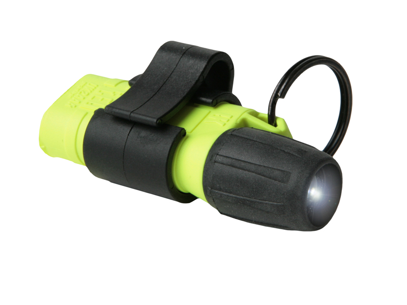 Underwater Kinetics UK2AAA eLED Mini Pocket Light - 7 Lumens - Uses 2 x AAAs - Black or Safety Yellow