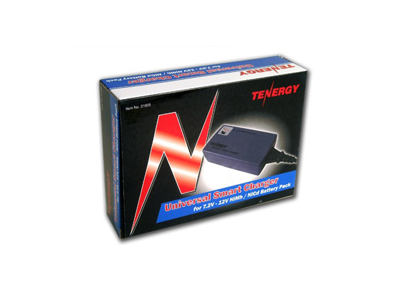 Tenergy 01005 Smart Universal Battery Pack Charger: 7.2V - 12V, Current Selection