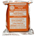 Ultimate Survival Technologies Emergency Food Ration Bars - 2400 Calories Per Bar - 4-Count Cardboard Displayer (20-02020-06)