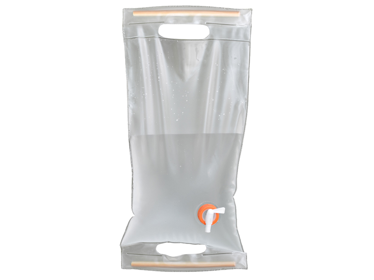 Ultimate Survival Technologies Roll-Up Water Carrier with Spout - 10 Liters - Clear (20-02131-10)