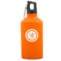Ultimate Survival Technologies Triangular Flask - Aluminum with Plastic Cap - Orange (20-02736)