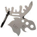 Ultimate Survival Technologies Tool A Long Moose Multi-Tool - Stainless Steel - 5 Total Tools - TSA-Compliant (20-02763)