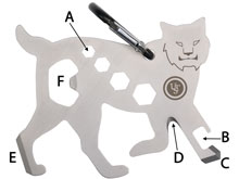 Bobcat Tool A Long on white background
