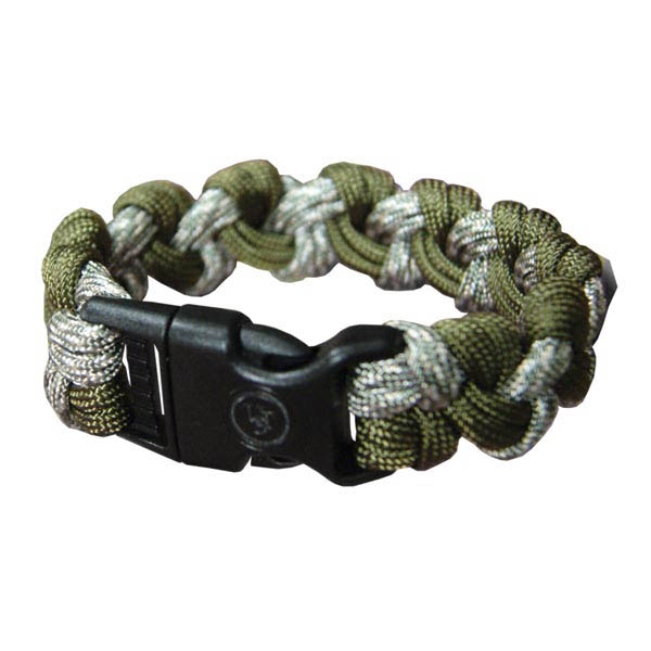 Ultimate Survival Technologies Survival Bracelet - Wrist Band with Nylon Buckle - 7 Feet of Paracord 550 - Camo (20-295-354-E3E6)