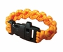 Ultimate Survival Technologies Survival Bracelet with Signaling Whistle - 8-inch Wrist Band with Nylon Buckle - 7 Feet of Paracord - Orange (20-295-355-N18)