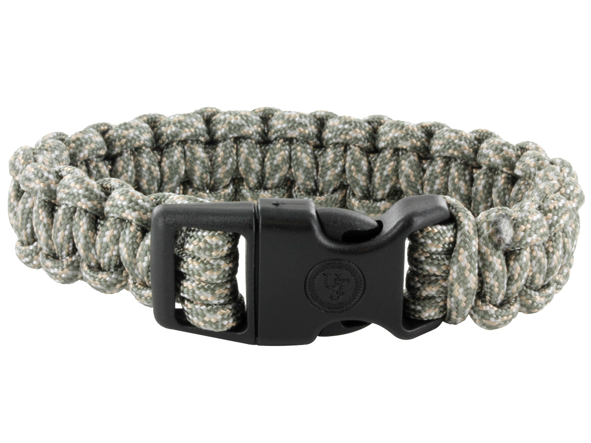 Ultimate Survival Technologies Survival Bracelet - 8-inch Wrist Band with Nylon Buckle - 8 Feet of Paracord - Assorted Colors (20-295B8-A4)