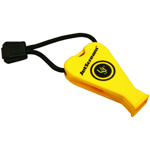 Ultimate Survival Technologies (Marine) JetScream Floating Whistle / Emergency Signaling Device - 122dB - Yellow (20-300-06-M)
