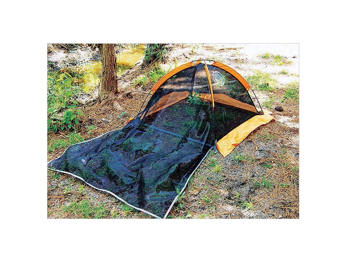 Ultimate Survival Technologies B.A.S.E. Bug Tent For One - 21 x 72 x 34-inch Mesh Camping Shelter (20-5000-01)