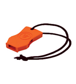 Ultimate Survival Technologies JetScream Micro Floating Whistle / Emergency Signaling Device - 112dB - Orange (20-51143-08)