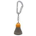 Ultimate Survival Technologies Tent Bulb LED 0.5 Keychain Light -  Includes 4 x LR41s - Orange and Gray (20-SAC0008)