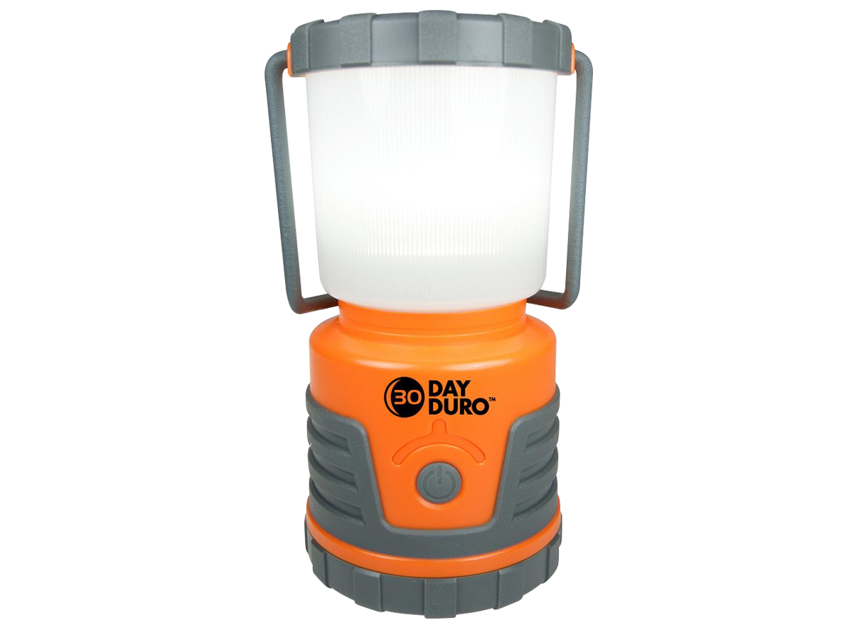 Ultimate Survival Technologies 30-Day Duro Lantern - 3 x 1.4W Nichia White LEDs - 700 Lumens - Uses 3 x Ds - Glo, Orange or Silver