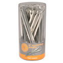 Ultimate Survival Technologies Aluminum Tent Stakes - 9-inch Stakes for Outdoor Shelters - 48-Count Sellinder (20-02094SD)