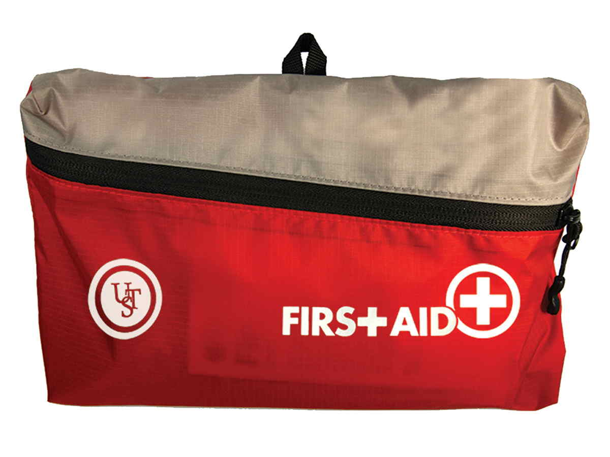 Ultimate Survival Technologies FeatherLite First Aid Kit 3.0 - Includes Bandages and Medicine - Red (80-30-1460)