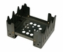 Ultimate Survival Technologies Folding Stove - 4.5 x 3.75 x 2.75-inch Cook Platform for Camping - Available With or Without Fuel Cubes