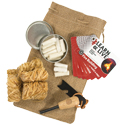 Ultimate Survival Technologies Heritage Campfire Kit - Includes Fire Starter, Kindling Logs, Tinder, and Pocket Guide (20-12119)