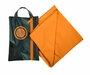 Ultimate Survival Technologies MicroFiber Towel 0.5 with Travel Pouch - Camping Towel - Orange - 3 Sizes Available