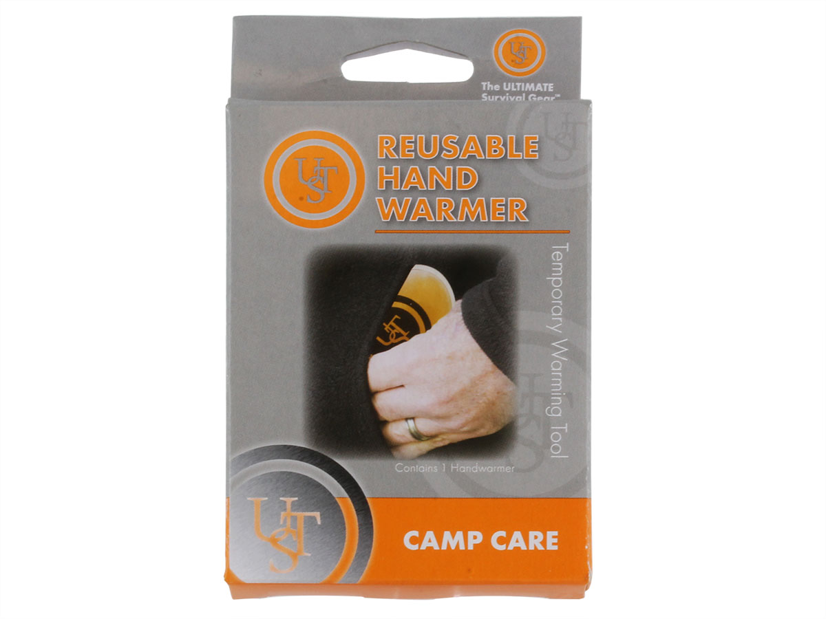 Ultimate Survival Technologies Reusable Hand Warmer - Single Unit (20-02740) or 4-Pack (20-12123)