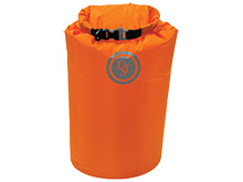 Ultimate Survival Technologies Safe and Dry Bag - 15 Liter Water-Resistant Nylon Storage Pack - Orange (20-12137)
