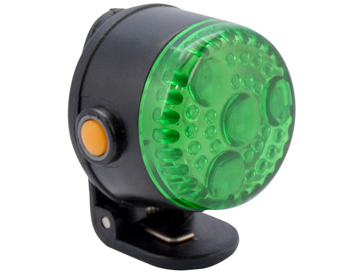 Ultimate Survival Technologies See-Me KLIPP 1.0 Personal Locator Light - 4 x LEDs - Includes 2 x CR2032s - Green, Red or White