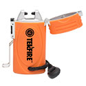 Ultimate Survival Technologies TekFire Fuel-Free Electric Lighter - Flame-Less USB Rechargeable Fire Starter - Built-in Lithium-ion (Li-ion) Battery - Orange (20-00041)