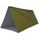 Ultimate Survival Technologies Tube Tarp 1.0 - Reversible Shelter with OD Green and Reflective Sides (20-12150)