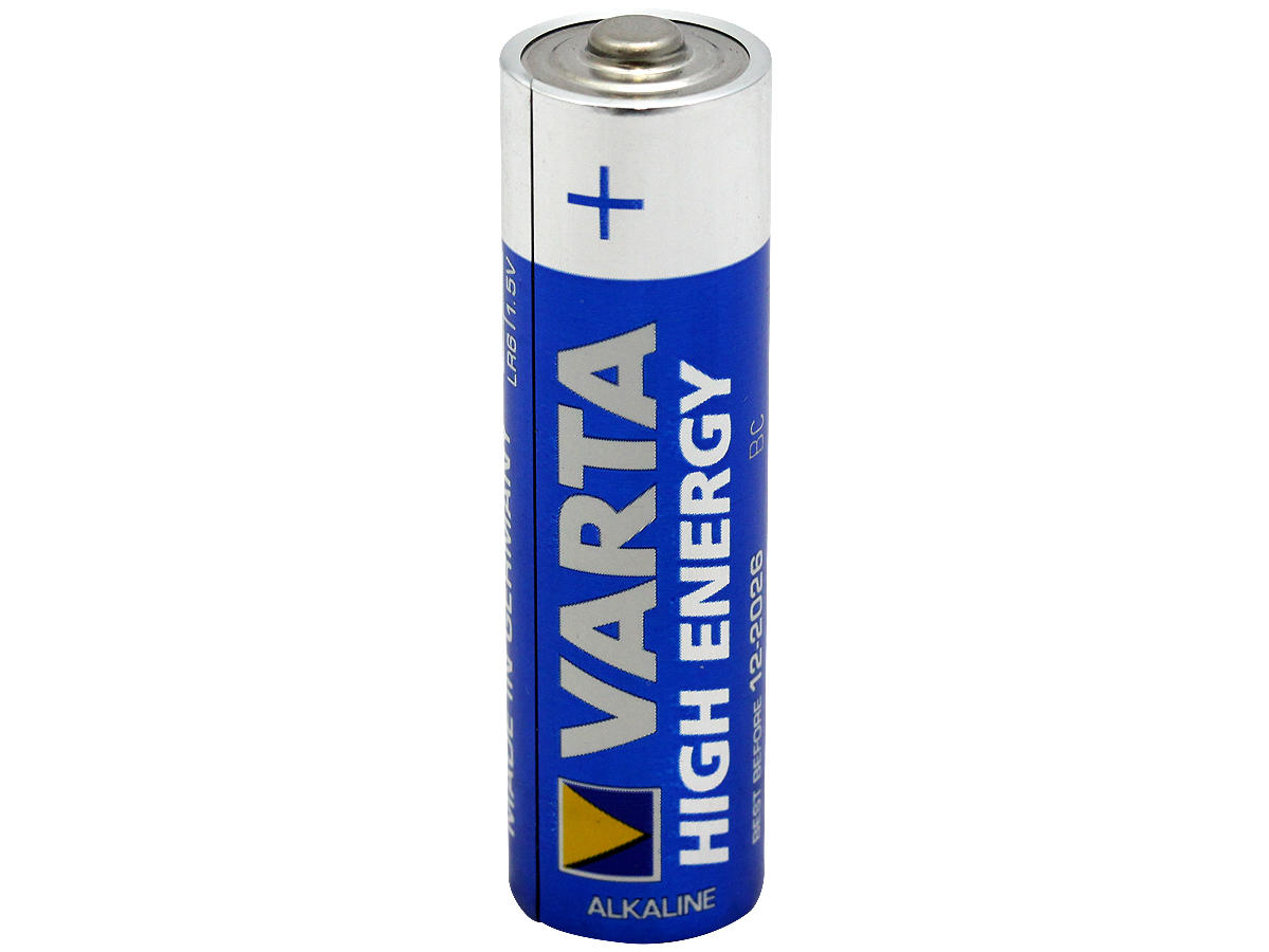 varta high energy v4906 aa 1 5v alkaline button top battery bulk. Black Bedroom Furniture Sets. Home Design Ideas