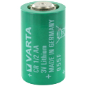 Varta 6127 CR1/2 AA CR14250 950mAh 3V Lithium (LiMnO2) Battery - Bulk