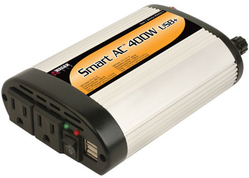 Wagan 2003-5 Slim Line 400W/1000W Inverter 5V2.1A USB