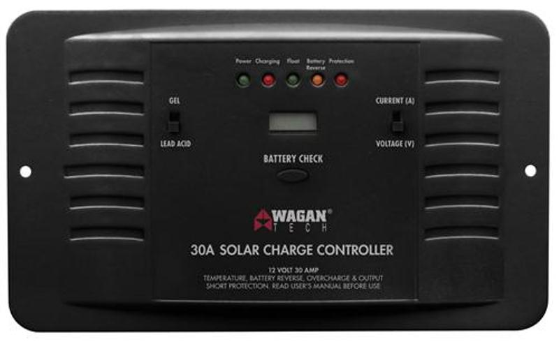 Wagan  2510 - 30A Solar Charge Controller