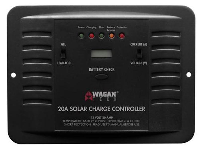 Wagan 2511 - 20A Solar Charge Controller