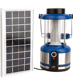 WAGAN TECH Solar Powered Classic Lantern (8533)